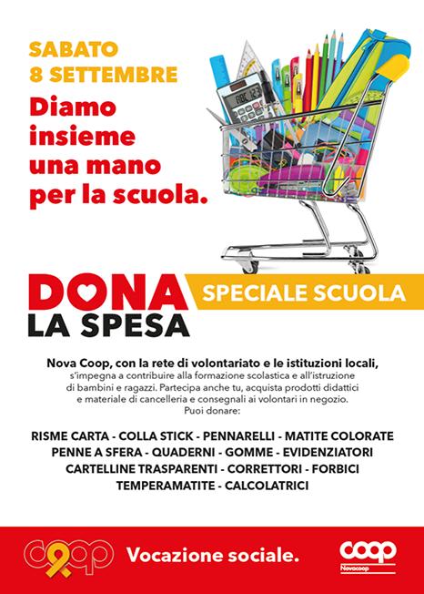 Dona la Spesa - Speciale Scuola 8 Settembre