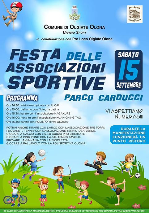 locandina festa associazioni sportive-vivilanotizia