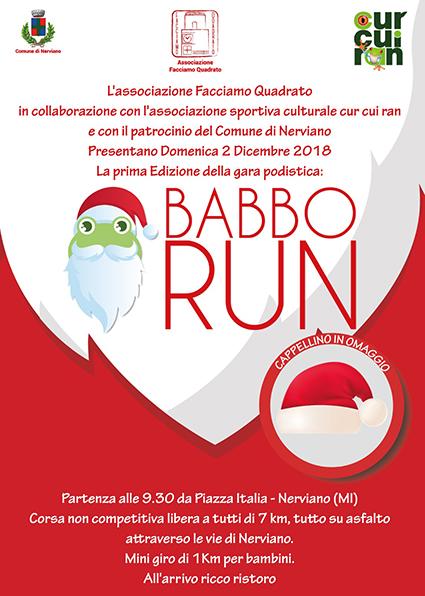 Babbo Run fronte-vivilanotizia