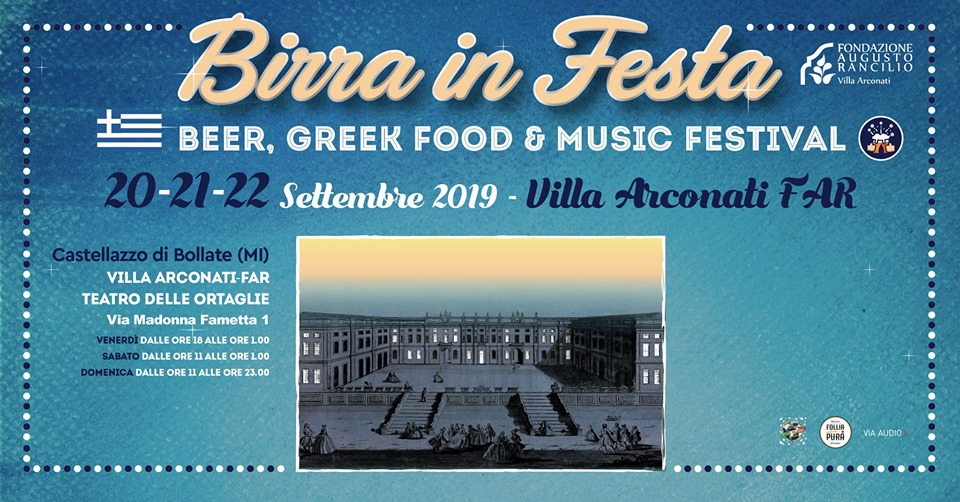 festa della birra Villa Arconati