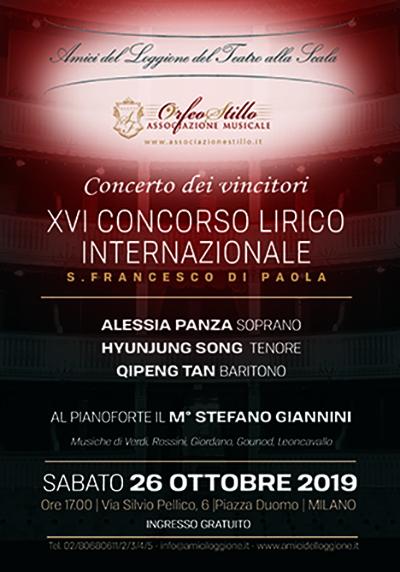 Locandina concerto Amici 2019-vivilanotizia