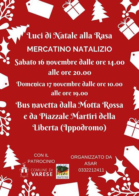 Vol-Mercatini di Natale alla Rasa di Varese-Vivilanotizia
