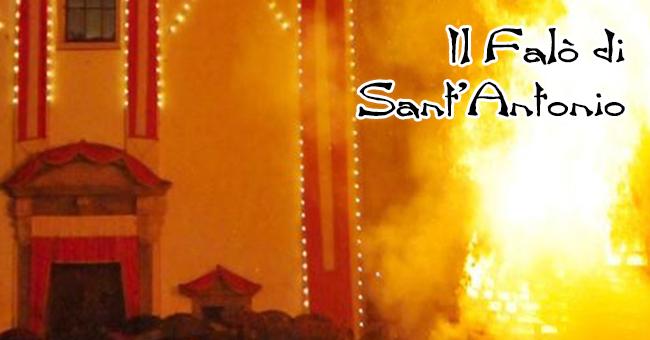 Falò di Sant'Antonio-vivilanotizia