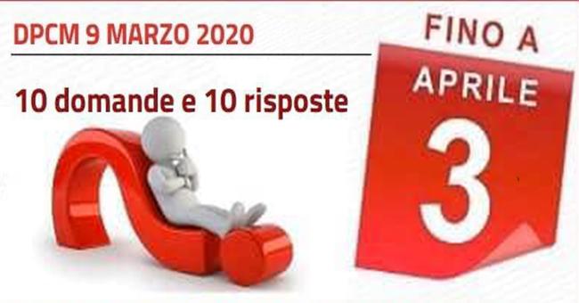 DPCM 9 Marzo 2020-vivilanotizia