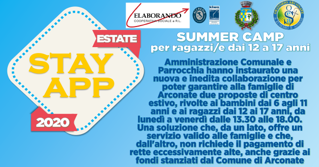 Summer camp arconate-vivilanotizia