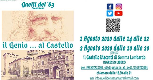 Il genio al Castello-vivilanotizia